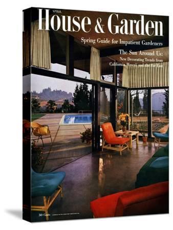 House & Garden Cover - April 1954