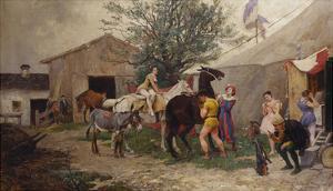The Circus by Julius von Blaas