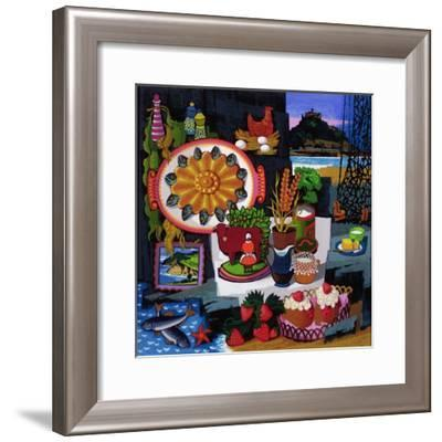 July: Devonshire and Cornwall, C.1970--Framed Giclee Print