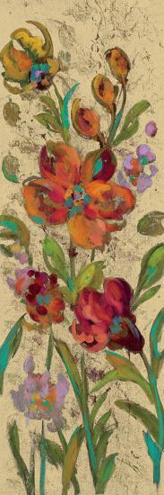 July Garden Trio I on Cream-Silvia Vassileva-Art Print