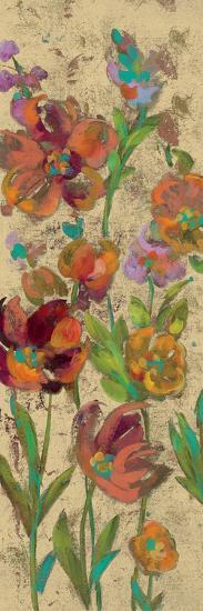 July Garden Trio II on Cream-Silvia Vassileva-Art Print