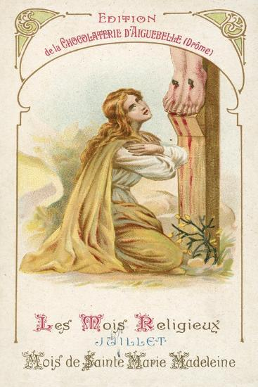 July, Month of St Mary Magdalene--Giclee Print