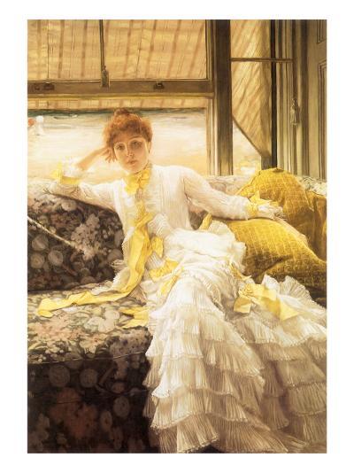 July (Speciment of a Portrait), 1878-James Tissot-Giclee Print
