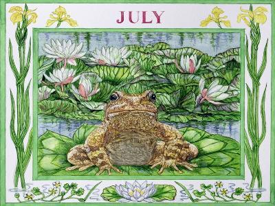 July-Catherine Bradbury-Giclee Print