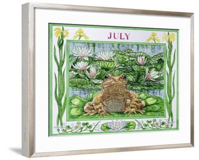 July-Catherine Bradbury-Framed Giclee Print