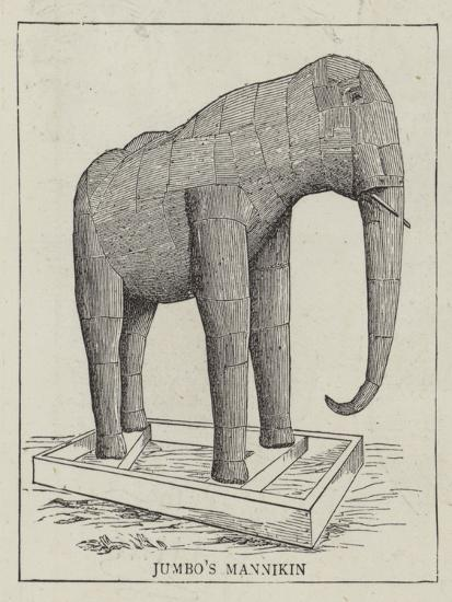 Jumbo Stuffed--Giclee Print