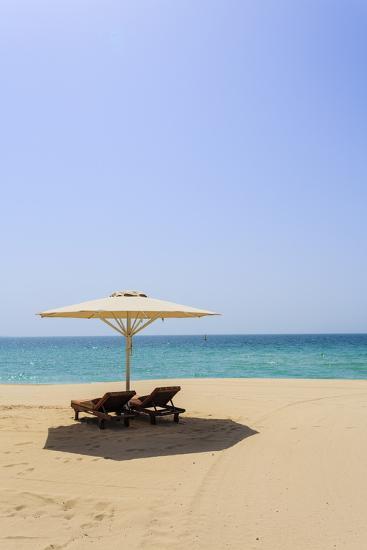 Jumeirah Beach, Dubai, United Arab Emirates, Middle East-Amanda Hall-Photographic Print