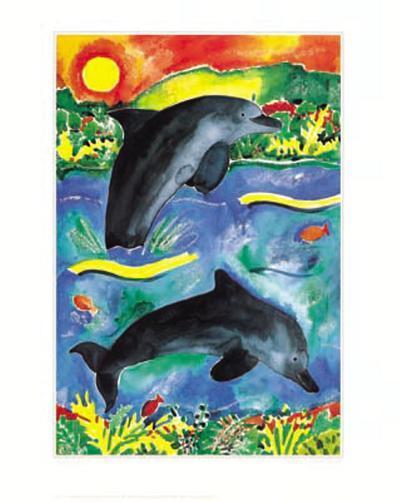 Jump for Joy II-Lisa V^ Keaney-Art Print