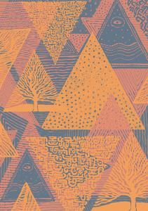 Cover Design with Triangles. Vector Illustration. by jumpingsack