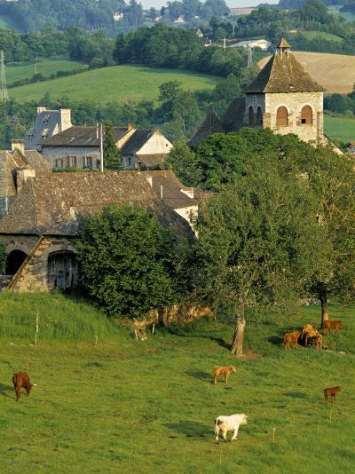 Junac, Montsalvy, Auvergne, France-Peter Adams-Photographic Print