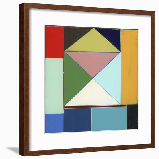 Junction II-Alicia LaChance-Framed Premium Giclee Print