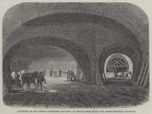 Junction of the Great Northern Railway at King'S-Cross with the Metropolitan Railway