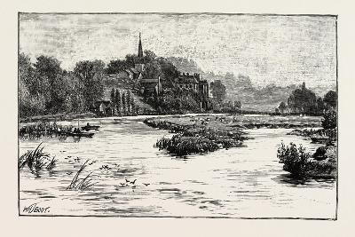 Junction of the Trent and the Dove, UK--Giclee Print