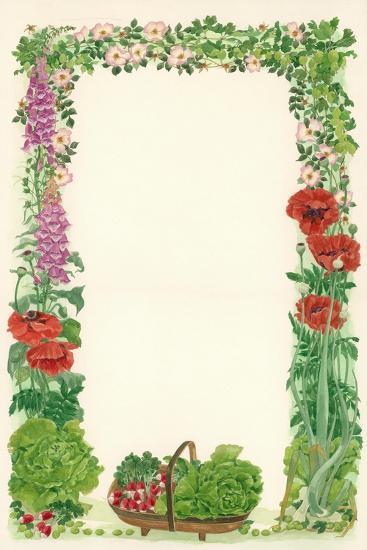June, 1993-Linda Benton-Giclee Print