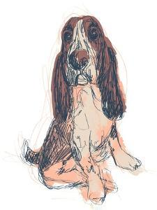Dog Portrait--Ajax by June Erica Vess