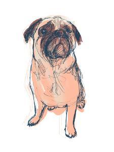 Dog Portrait--Dave by June Erica Vess