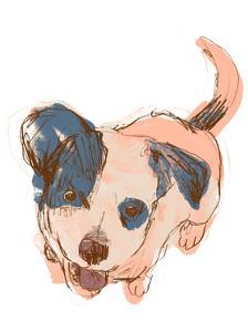 Dog Portrait--Maisie by June Erica Vess