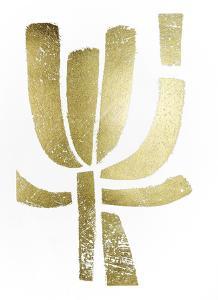Gold Foil Symbiotic II by June Erica Vess