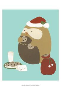 Happy Owlidays IX by June Erica Vess