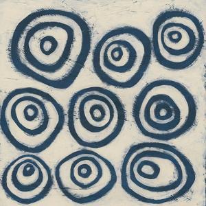 Indigo Signals I by June Erica Vess