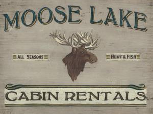 Lodge Sign IV by June Erica Vess