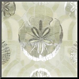 Metallic Shell Tiles II by June Erica Vess