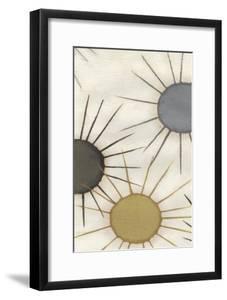 Starburst Triptych II by June Erica Vess
