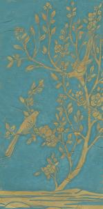 Topaz Chinoiserie I by June Erica Vess
