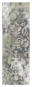 Weathered Damask Panel I by June Erica Vess