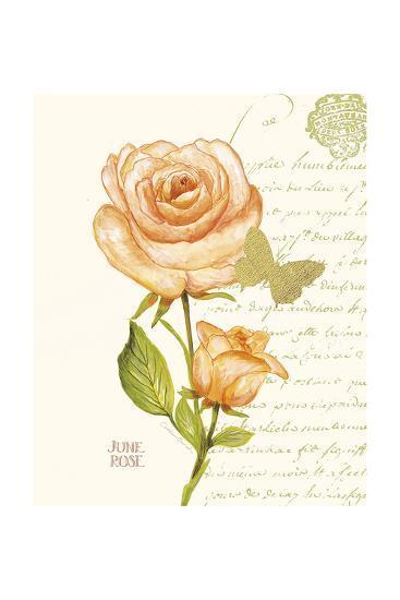 June Rose-Ariane Sarah-Art Print