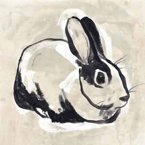 Antique Rabbit I by June Vess
