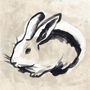 Antique Rabbit II by June Vess