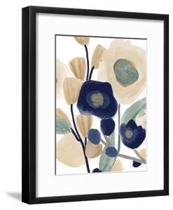 Blue Poppy Cascade I by June Vess