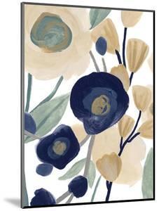 Blue Poppy Cascade II by June Vess