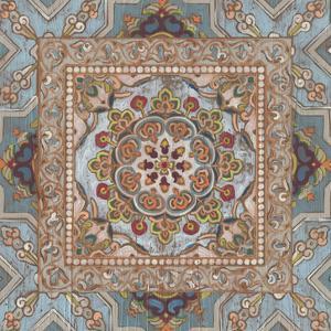 Boho Textile II by June Vess