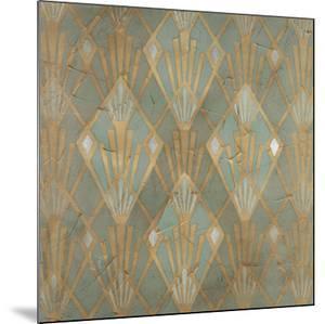 Gilded Deco Motif I by June Vess