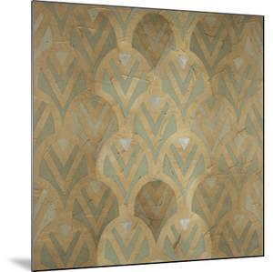 Gilded Deco Motif IV by June Vess