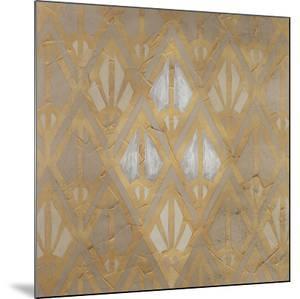 Gilded Deco Motif V by June Vess