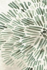 Green Flowerhead I by June Vess