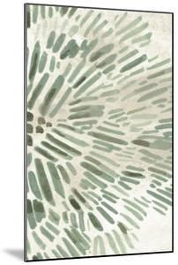 Green Flowerhead IV by June Vess
