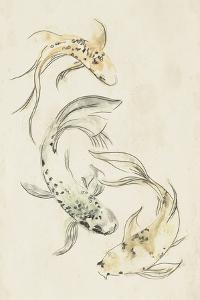 Koi Dance I by June Vess