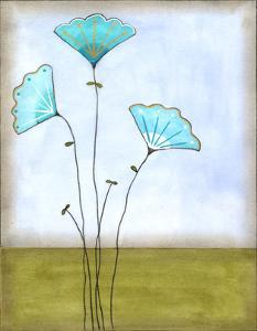 Minna's Garden I by June Vess
