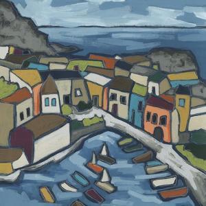 Mosaic Harbor I by June Vess