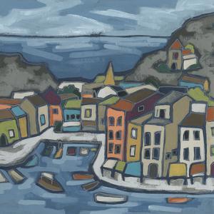 Mosaic Harbor II by June Vess