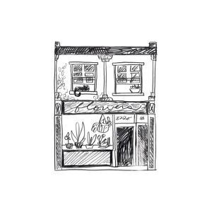 Shopfront Sketches IV by June Vess