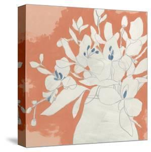 Terracotta Flowers II by June Vess