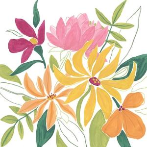 Tutti Frutti Floral I by June Vess