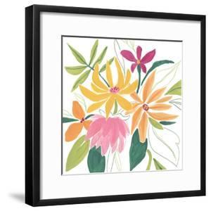 Tutti Frutti Floral II by June Vess