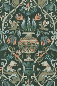 Verdant Tapestry I by June Vess