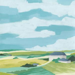 Village Valley II by June Vess